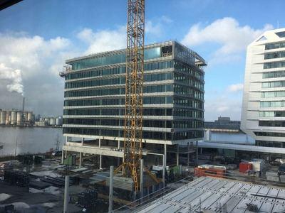 Hotel in aanbouw